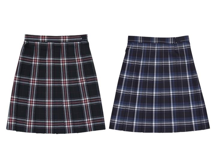 制服のスカートで人気のチェック柄は?2