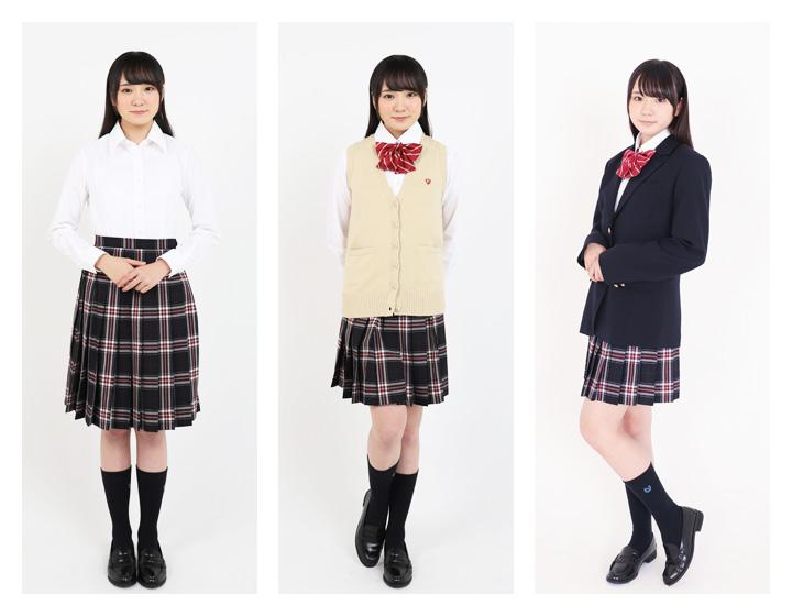 制服のスカートで人気のチェック柄は?3